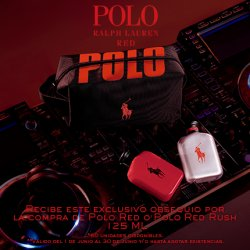 Imperdible Polo Ralph Lauren Red Rush 125 ml