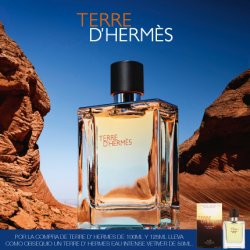 Imperdible Set Terre D'Hermès Eau de Toilette 100ml + After Shave + Tamaño Viajero