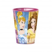 Vaso Sencillo Princesas 260 ml