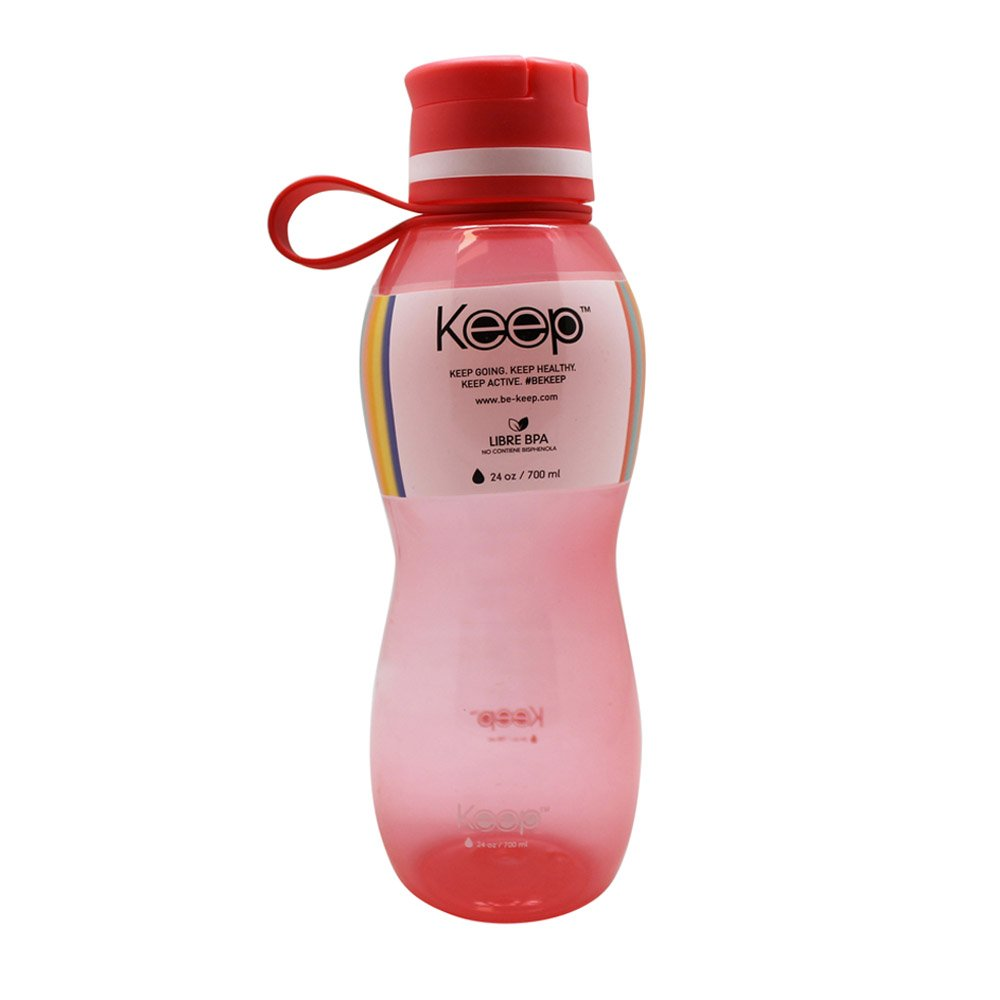 Botella Pp Value Keep 700 Ml-Rosado
