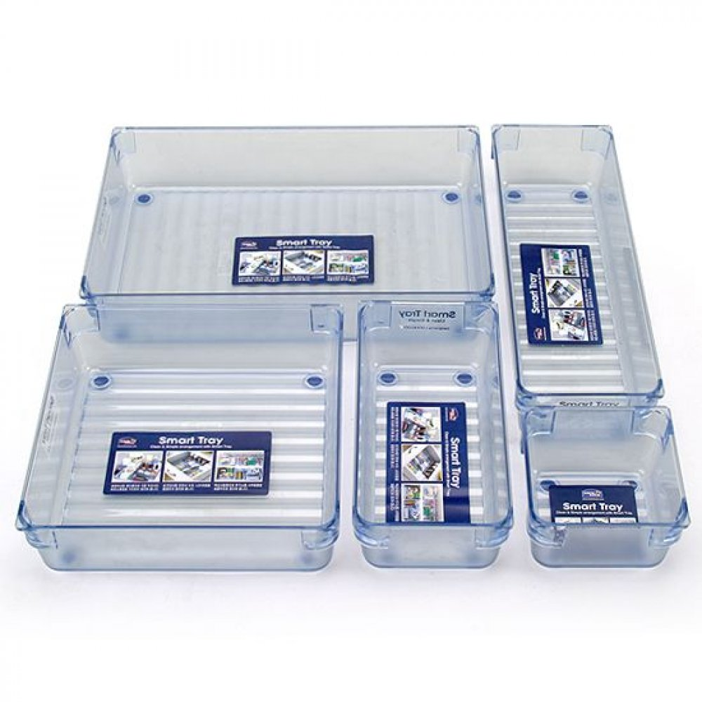 Organizador Multiusos Rectangular Smart Tray 247 X 83 Mm
