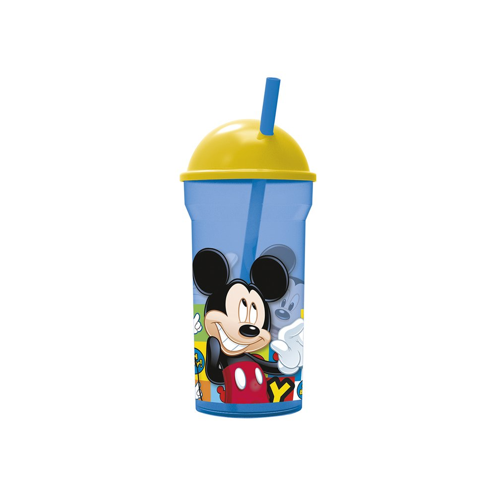 Vaso Pitillo Mickey 460 ml