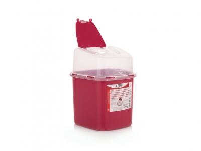 Recipiente residuos  cortopunzantes 2.8 L