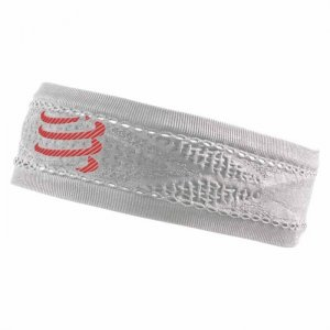 Head Band On/Off Compressport Blanca