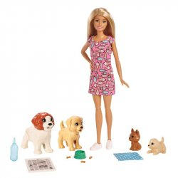 Barbie Guardería De Perritos Mattel Fxh08