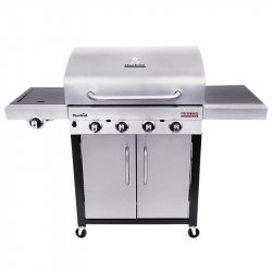 Bbq A Gas Charbroil 468250019 4 Quemadores + Later