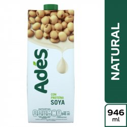 Bebida Ades Soya Natural X 946 Ml 160533