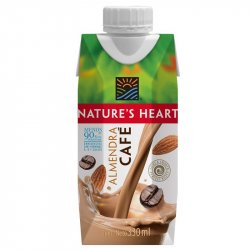 Bebida Natural Heart 84274 X 330ml De Almendra-Cafe