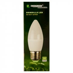 Bombillo de Luz Led Evergreen Blanco
