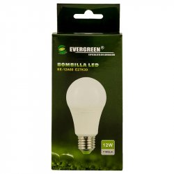 Bombillo de Luz Led Evergreen-Blanco