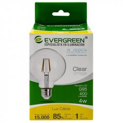 Bombillo Led Circular Vintage Evergreen 4G95U 1