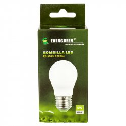 Bombillo Led Evergreen 5W Luz Blanca EE-5G45