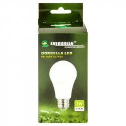 Bombillo Led Evergreen 7W Luz Cálida EE-7A60