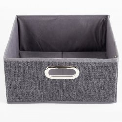 CAJA PLEGABLE 5FIVE 138886D GRIS LINO