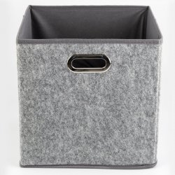 CAJA PLEGABLE 5FIVE 160382B GRIS VELVET