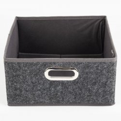 CAJA PLEGABLE 5FIVE 160383A GRIS VELVET