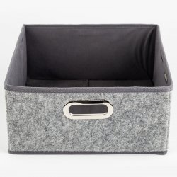 CAJA PLEGABLE 5FIVE 160383B GRIS VELVET