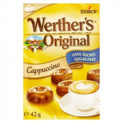 Caramelo Capuccino Werther's 42gr