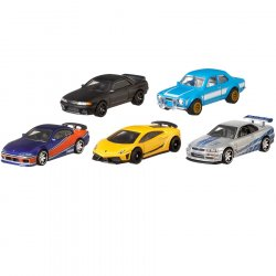 Carro premium fast and furious surtido hot wheels gbw75