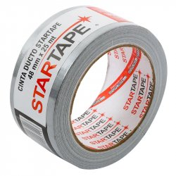 Cinta Ducto Startape 48 x 25 mts-Gris