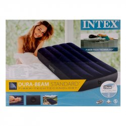 COLCHON INFLABLE JT TWIN INTEX 64756 76X191 X25 CM