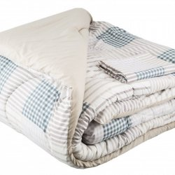 Comforter Expressions 202007 King Azul-Gris Frame Deluxe