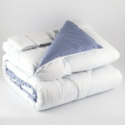 Comforter Expressions 206787 King Azul Light Waves Deluxe
