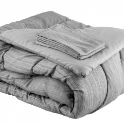 COMFORTER VISION KING EXPRESSIONS DELUXE GRIS