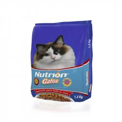 Concentrado Gato Nutrion 0323 1.5 Kg Carne/Pollo
