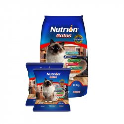 Concentrado Gato Nutrion 122771 Carne-Pollo Gatos 8+1 Kg
