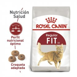 CONCENTRADO GATO ROYAL CANIN 4 KG ADULT FIT 2520040010