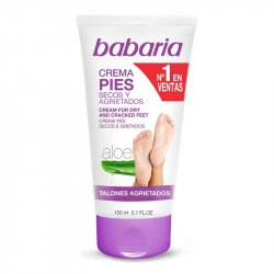 Crema pies secos Babaria aloe 150 ml