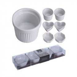 Dip & Chips Excellent Houseware 795880340 4pz En Porcelana