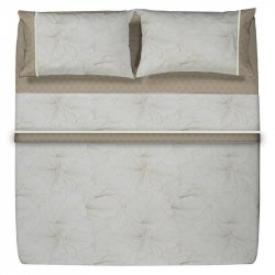 Duvet Cannon Doble Pia 150H 50Algodon50Poliester Taupe Dced150Pia