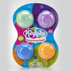 ESPUMA MOLDEABLE PLAYFOAM CLASSIC 4-PACK 1900