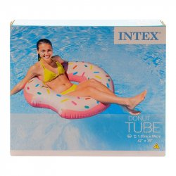 Flotador Circular Donut  Intex 56265-Multicolor