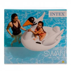 Flotador Intex de Cisne-Blanco