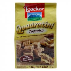Galleta Quadratini Tiramisu Loacker 110g