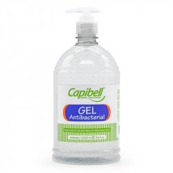 Gel Antibacterial Capibell 8021564 Transparente 1000ml