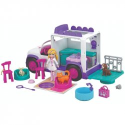 HOSPITAL MÓVIL DE ANIMALITOS POLLY POCKET GFR04