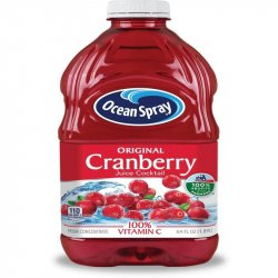 Jugo ocean spray cranberry cocktail 64 oz
