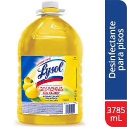 Limpiador Lysol 3114612 Desinfectante Citrus 3785 Ml