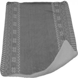 MANTA HOME STYLING COLLECTION AAE251030 130X150CM NAVIDAD GRIS