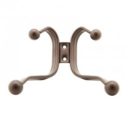 PERCHERO INTERDESIGN 53571 ACERO BRONCE 4G