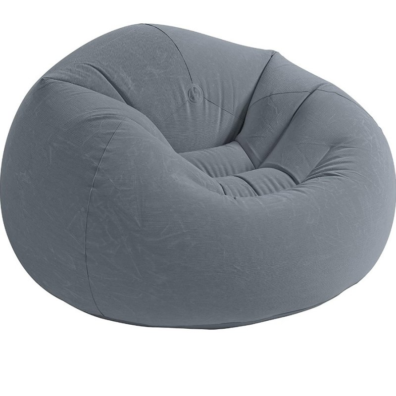 PUFF INFLABLE INTEX 68579 107X104X69 CM GRIS
