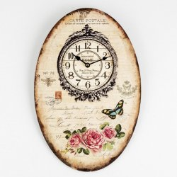 Reloj Pared Exp C012 Rosas 30x45cm