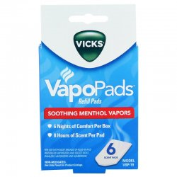 Repuesto Pad Vicks Blanco
