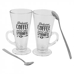 Set 2 Mug Café Piphy 270ml-Transparente