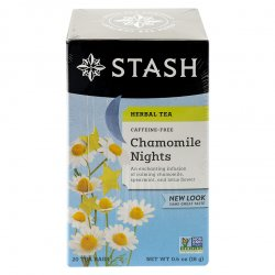 Set de 20 Bolsas de Té Stash Herbal Chamomile 18gr