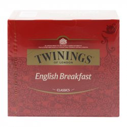 Set de 50 Bolsas Té English Breakfast Twinings 100g